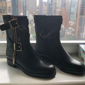 Aerin Black Lacy Ankle Boots!